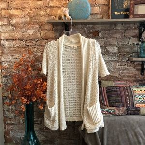 Anthropologie Moth slouchy pocket cardigan sweater
